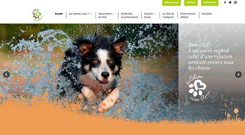 site web le chien mon ami